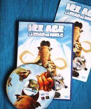 ICE AGE (Infantil, Dibujos Animados). TODO UN CLÁSICO YA DE LA ANIMACIÓN EN DVD!