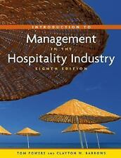 Introduction to Management in the Hospitality Industry-ExLibrary