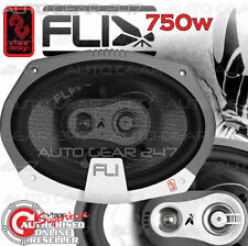 FLI 6x9 FL9-F3 Integrator 750w Triaxial Car Van Door Parcel Shelf Oval Speakers