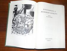 Vintage Cookbook Encyclopedia of European Cooking Musia Soper 1962 Hardback