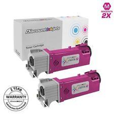 2pk 331-0717 MAGENTA Toner Cartridge for Dell 2150cn 2Y3CM 2155cn 3310717