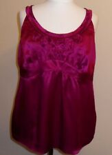 Ladies Monsoon Purple Silk Top. Size 20.