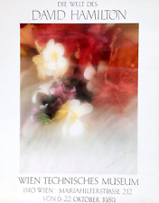 David Hamilton, Wien Technisches Museum, Poster, signed in pencil and stamped