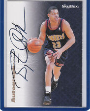 Bryant Stith 1996 97 Skybox Autographics Golden State Warriors