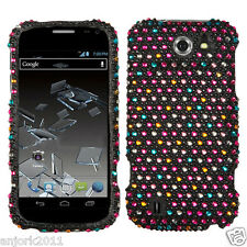 Sprint Flash ZTE N9500 Snap-On Diamond Case Cover Accessory Sparkle Dots