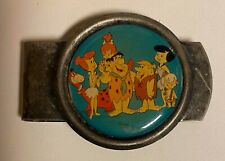 Flintstones Metal Money Clip - Hanna Barbera
