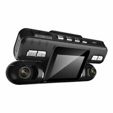 Car DVR Dual Lens HD Camera Video Recorder 2.0 Inch LCD G-Sensor 320 Degree 2Cam