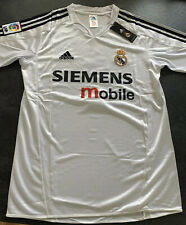Real Madrid 2004/05 Ronaldo Football Shirt Home Camiseta Camisa Mens Zidane L*xl
