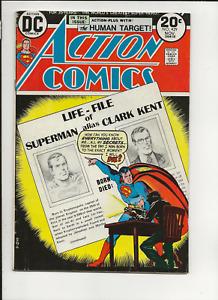 Action Comics no. 429, Superman, DC, 1973, VG/F