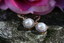 Womens Pearl Earrings, Wedding Jewelry, Gift