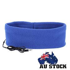 Sleep Headphones SleepPhones Headband Mask for Running Sleeping Relaxing Blue
