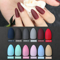 24pcs Gradient Color Fake Finger Nails Full Cover Fake False Nail Art Tips