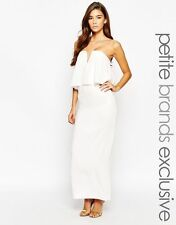 Petite Formal Maxi Dresses without Pattern for Women