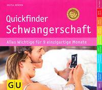Quickfinder Schwangerschaft GU Ratgeber 9783833825026 Ladenpreis 16,99€