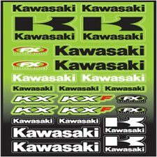 Factory Effex Kawasaki Universal Stickers Decals Sticker Sheet KXF KX 09-68130