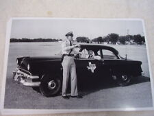 NEW 1954 FORD POLICE CAR TEAX HIGHWAY PATROL   11 X 17  PHOTO  PICTURE