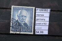 STAMPS GERMANY YVERT N°62 USED (F109382)