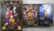 Z-Man Games Tragedy Looper Base, Midnight Circle, Cosmic Evil Board Game Lot