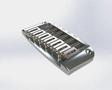 Brandnew Hipshot 7 String replacement chrome bridge for Ibanez gibraltar guitar