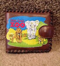 Saint Louis Zoo Miniature Brown Wallet - Two Fold