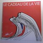 """2 x 33T LE CADEAU DE LA VIE 1988 Disques LP 12"""" SARDOU HALLYDAY GOLDMAN DUTEIL"""