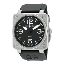 Bell and Ross Aviation Automatic 46mm Mens Watch BR01-92-STEEL