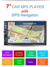 "7"" HD Car 2 DIN GPS Navigatore Bluetooth TF FM USB SD AUX-In MP5 Media Player"