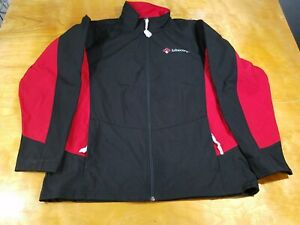 New Red / Black Lubecore Canada Coal Harbour Size XL Zip Up Jacket