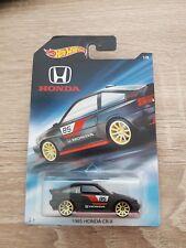 1985 Honda CR-X schwarz Long Card Hot Wheels 2017