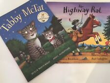 Julia Donaldson Books Collection -2 Books-(Tabby McTat/The Highway Rat) FREE P&P
