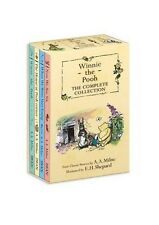 Winnie the Pooh: The Complete Collection, 4 Books w/ Slipcase by A A Milne -NEW!