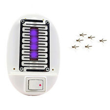 LED Electric Mosquito Fly Bug Insect Trap Zapper Killer Night Lamp USA Plug_OI