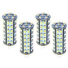 4x HQRP Tower Type G4 66 LEDs SMD 3528 LED Bulbs Cool White 6300K-7000K 12V 5W