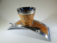 Espresso cup DeViehl Luxury Espresso cup in Pacamara Zebrano wood.