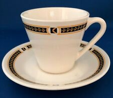Canadian Pacific Hotels - Rail Cup & Saucer - Cp Chateau Champlain pattern