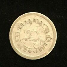 1918 Nederl Indie 1/10 Gulden  Silver Coin Netherlands