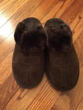 UGG Brown Suede Clogs Size 7