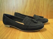 Carvela Ladies Shoes Size 7 Black Leather Loafers Flat Kurt Geiger Shoe