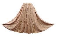Lagenlook Goth Hippie Hippy Long Skirt Gypsy Boho Indian Size 10 12 14 16