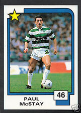 PANINI CALCIO CARD - 1988 SUPERSTARS CALCIO-N. 46-Paul McSTAY-celtica
