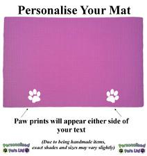 Personalised Custom Place Mat / Food Mat/ Bowl Mat / Feeding Mat for Dog Cat Pet