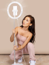 13inch LED Ring Light With Stand & Phone Holder Makeup for Camera 3 Color Mod UK