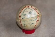 ☆☆ DETROIT TIGERS BASEBALL ☆☆  1962-63 with 26 Signatures incl. Manager & Coach