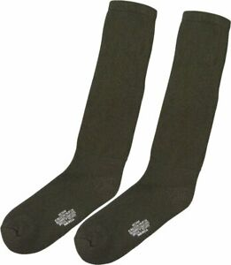 Olive Drab Government Issue Cushion Sole Military Socks