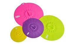 Premium Lily Pad Silicone Lid 4pc Set MULTI-COLOR B
