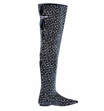 Zip Over Knee Boots Special Occasion Shoes for Women