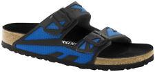 Birkenstock Sandale Arizona Rubberized Blau Microfaser Schmal Unisex
