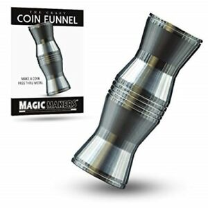 Crazy Coin Funnel - Make Coins Pass Thru A Solid Wall! - Coin Funnel