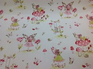 iliv SMD FAIRYTALE,Fairy Cotton Fabric.For Curtains/Upholstery/Craft/Cushions