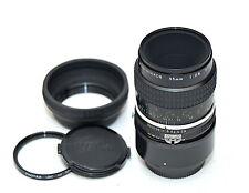 Nikon Nikkor Micro 55mm f2.8 AI-S Lens - *EXC* w/ PK13 1:1 Ext. Tube